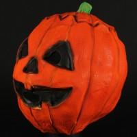 Silver Shamrock jack o'-lantern mask