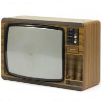 Sam Tyler (John Simm) television set