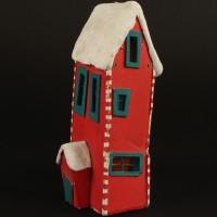 Christmas Town house miniature