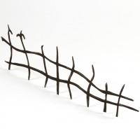 Halloween Town railing miniature