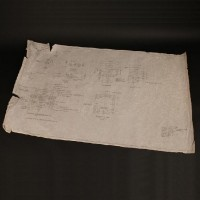 Hand drawn landing pad plans