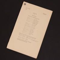 Dennis Spooner personal script - The Daleks' Master Plan