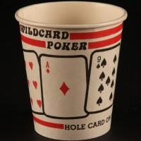 Wildcard poker coffee cup