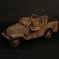 Distressed truck miniature