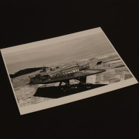 Behind the scenes photograph - Skiff