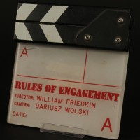 Production used insert clapperboard