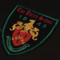 Baird School costume patch
