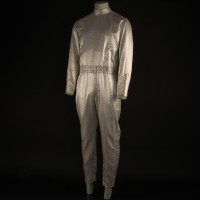 David Tate (Mike Farrell) spacesuit - The Pioneers