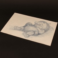 Hand drawn concept artwork - Ira