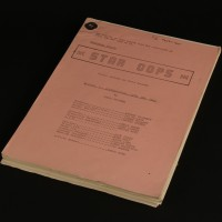 Production used script - Conversations with the Dead
