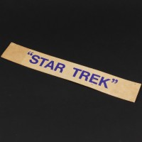 Star Trek door sign