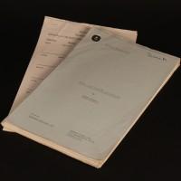 Production used script - Golden Fleece