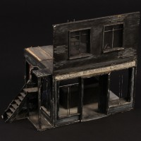 Pie shop concept model
