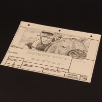 Brian Johnson personal storyboard - Luke & Tauntaun