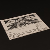 Brian Johnson personal storyboard - Luke in speeder