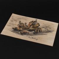 Derek Meddings Thunderbird 6 concept design artwork
