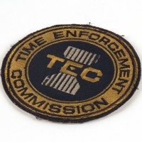 Time Enforcement Commission costume patch