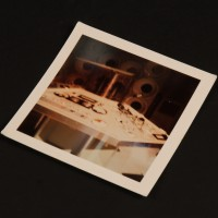 TARDIS console continuity Polaroid - The Time Monster