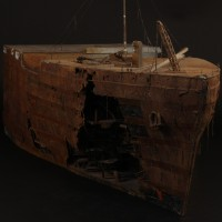 Titanic model miniature