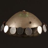 UFO saucer filming miniature