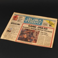 USA Today newspaper - Gang Jailed