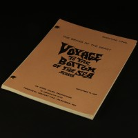 Production used script - The Brand of the Beast