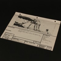 Brian Johnson personal storyboard - Walker