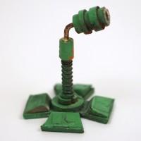 Starbug filming miniature leg