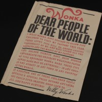 Wonka people of the world poster
