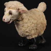 Woolly the lamb stop motion puppet