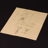 Hand drawn visual effects working storyboard