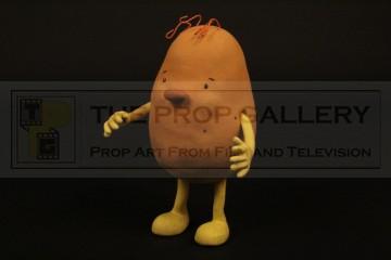 Tater Spudinski stop motion puppet