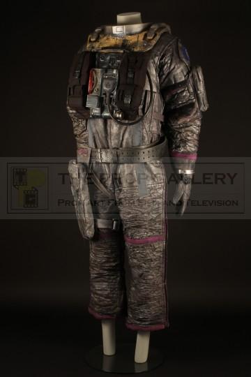 Smith (Sean Pertwee) stunt spacesuit