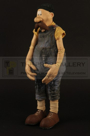 Horace Haystacks stop motion puppet