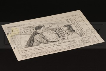 Production used storyboard - Eiffel Tower