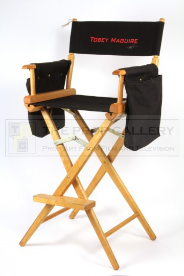 Production used directors chair - Eric Heffron & Tobey Maguire