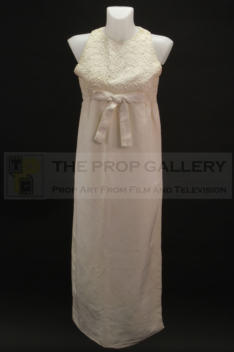 Original evening gown worn on screen by Diana Rigg as Emma Peel in The Avengers