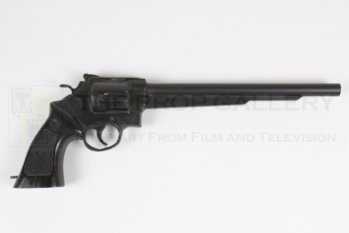 Original long pistol used by Jack Nicholson as The Joker in Batman
