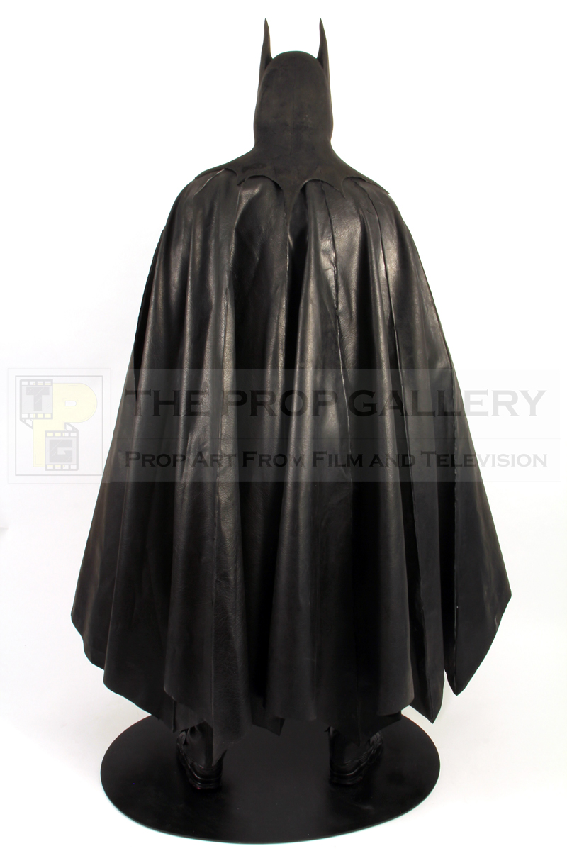 Original Batsuit worn by Michael Keaton in Tim Burton's Batman (1989)