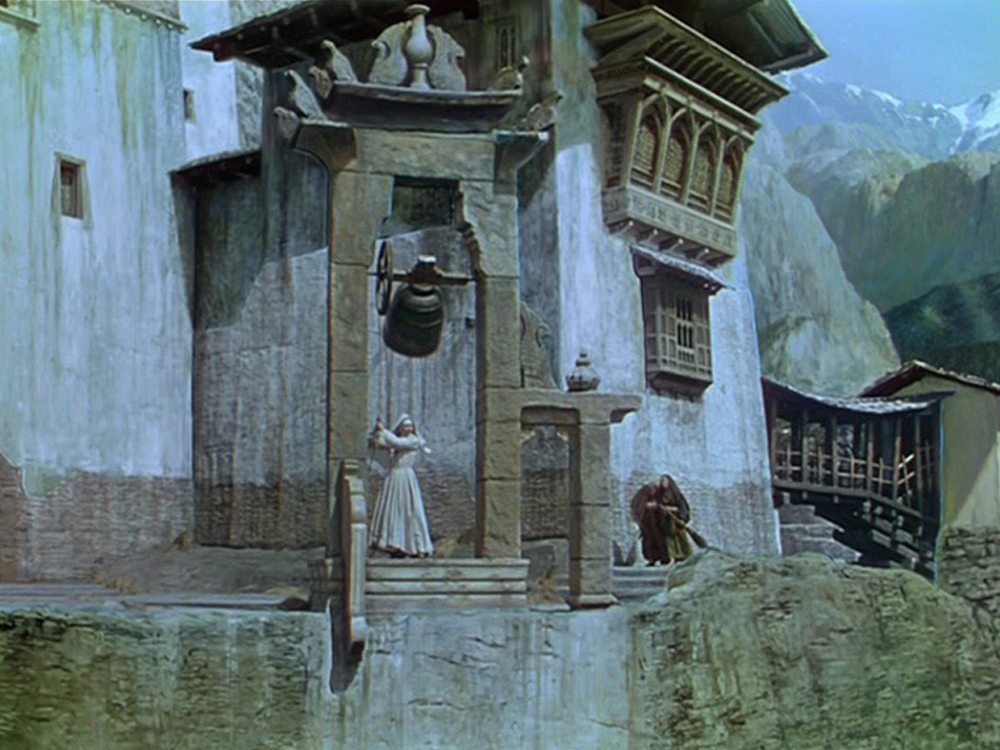 Iconic Walter Percy Day matte paintings from Black Narcissus (1947)