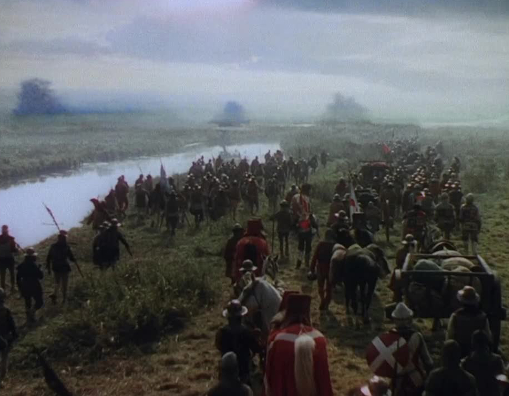 Walter Percy Day matte painting from Henry V (1944)