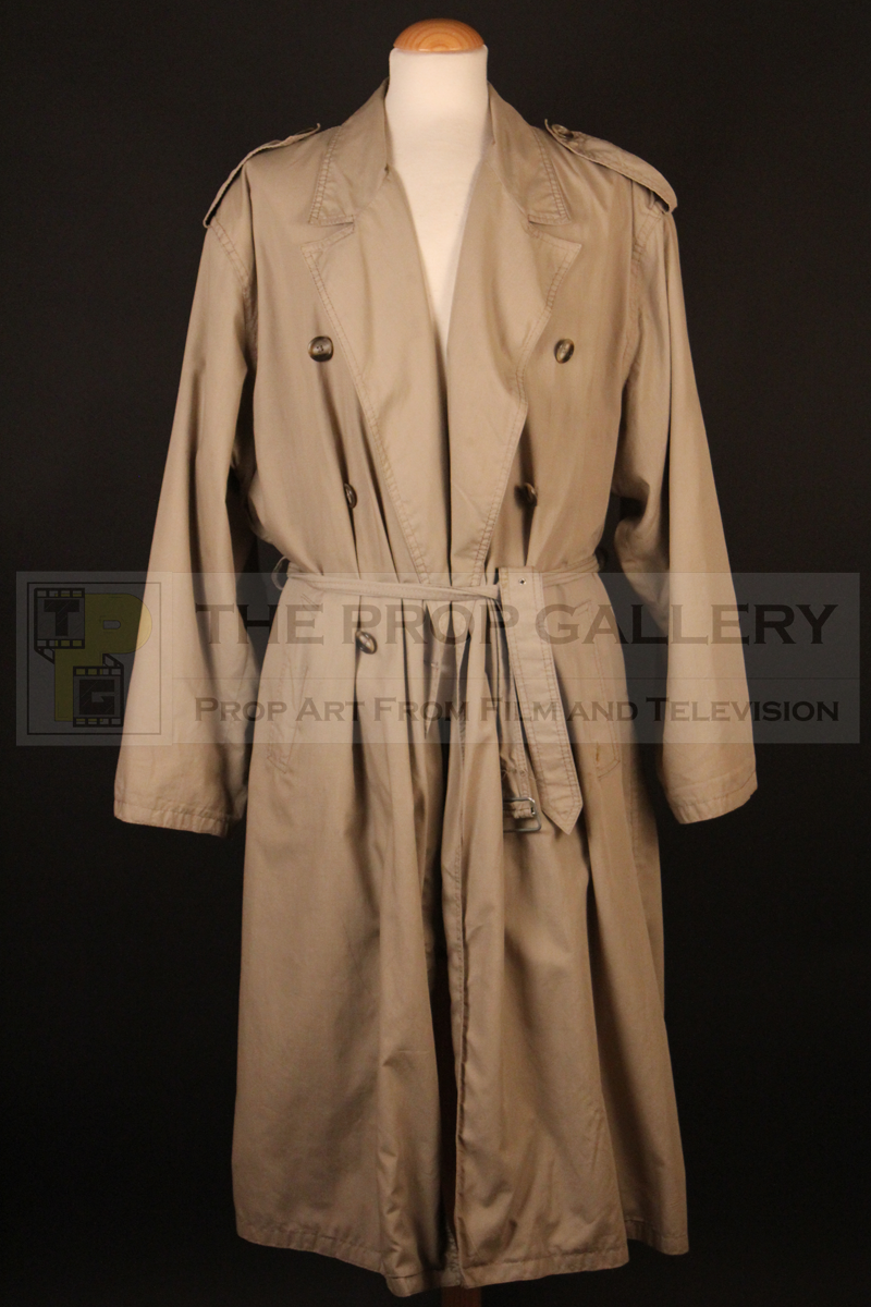 The original coat worn on screen by Christopher Lambert as Connor MacLeod in Highlander