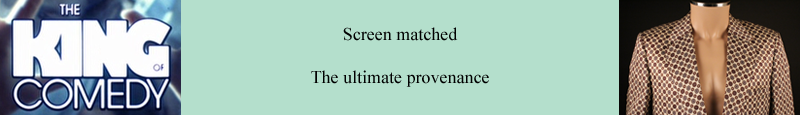 Screen matched - The ultimate provenance