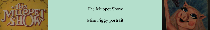 Original Miss Piggy portrait