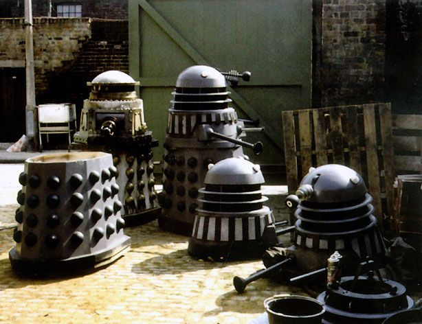 Behind the scenes on Remembrance of the Daleks