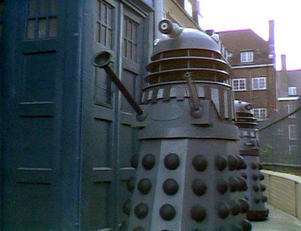 On screen in Remembrance of the Daleks