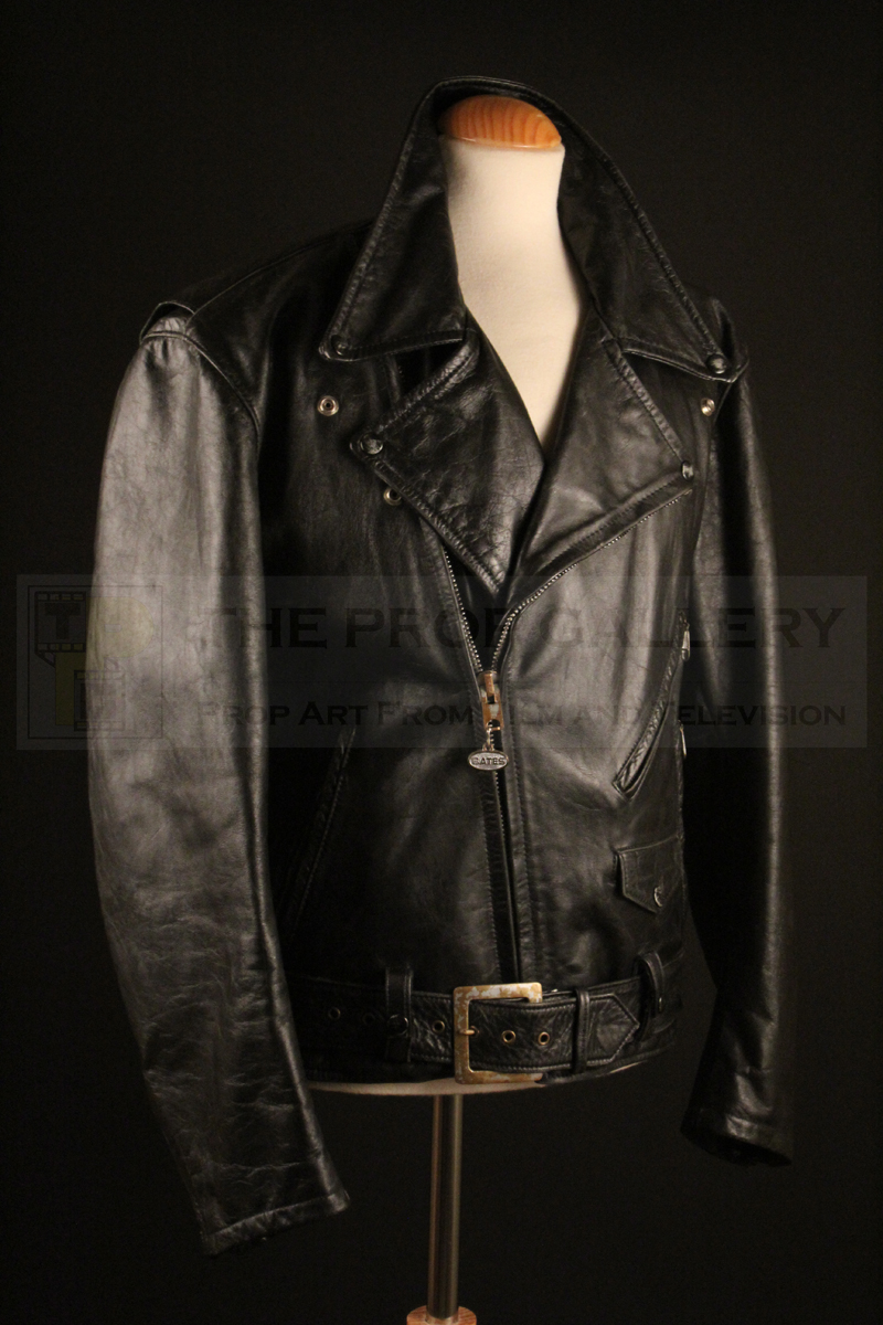 Original jacket worn on screen by Arnold Schwarzenegger as The Terminator