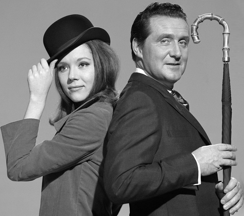 The Avengers - Diana Rigg and Patrick Macnee-2.