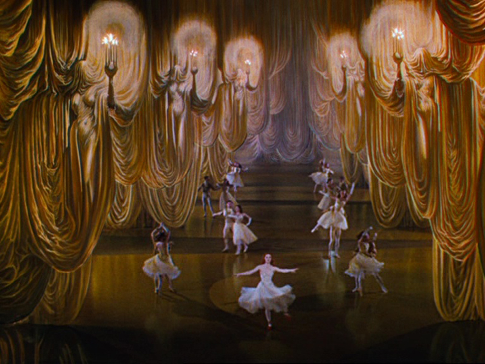 Ballet sequence matte paintings from The Red Shoes (1948)