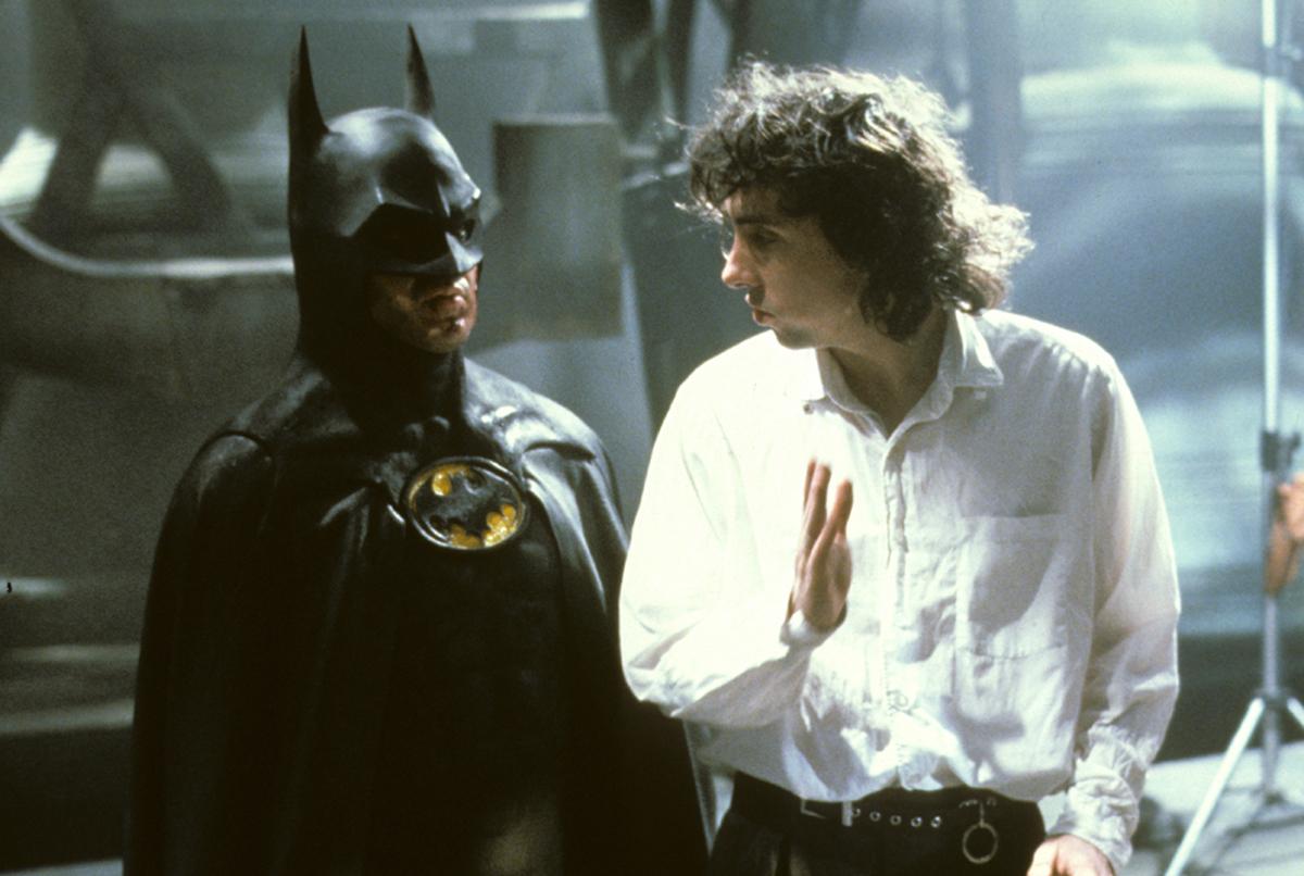 Tim Burton directs behind the scenes on Batman (1989)